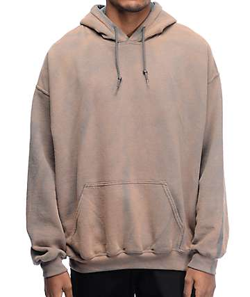 EPTM. Powder Wash Grey Hoodie