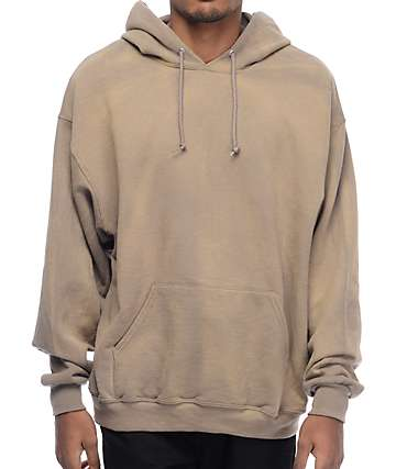 EPTM. Powder Wash Tan Hoodie