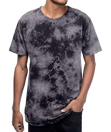 EPTM. Rain Storm Tie Dye Elongated T-Shirt