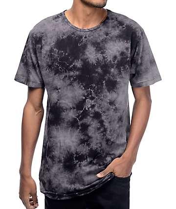 EPTM. Rain Storm camiseta alargada con efecto tie dye