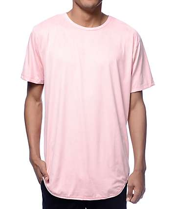 EPTM. Suede Pink Long T-Shirt
