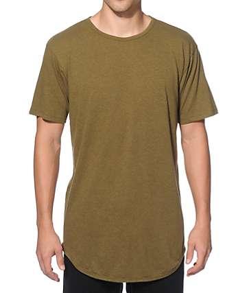 EPTM. Tri-Blend camiseta alargada