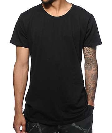 EPTM. camiseta alargada con dobladillo cuadrado