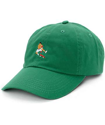 EVERYBODYSKATES Boxer Green Baseball Hat