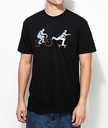 EVERYBODYSKATES Chase camiseta negra