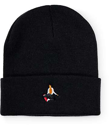 EVERYBODYSKATES Method Black Beanie