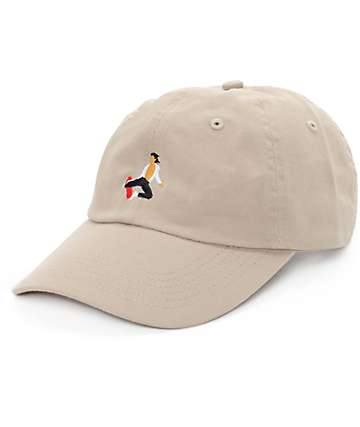 EVERYBODYSKATES Method Khaki Baseball Hat