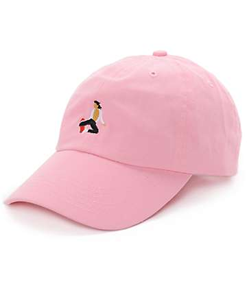 EVERYBODYSKATES Method Pink Baseball Hat