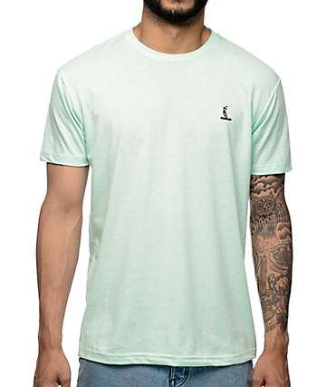 EVERYBODYSKATES Smithgrind Embroidery Mint T-Shirt