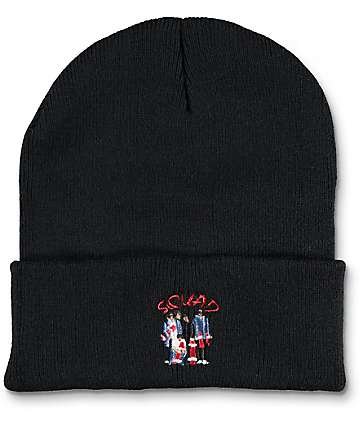 EVERYBODYSKATES Squad Black Beanie