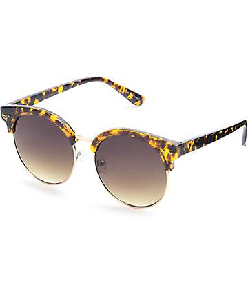 Easton Tortoise Retro Sunglasses