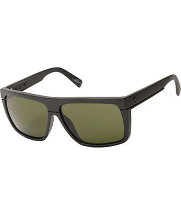 Electric Black Top Matte Black Sunglasses
