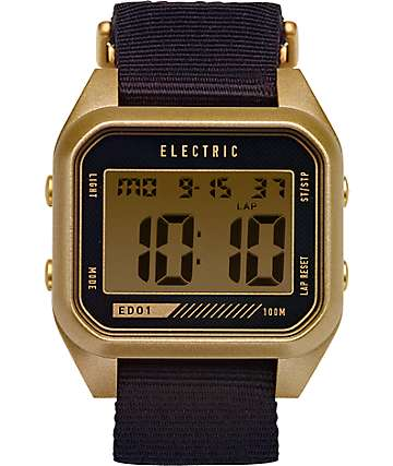 Electric ED01 Polyester Digital Watch