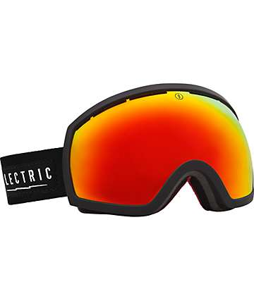 Electric EG2 Magnum Bronze & Red Chrome Snowboard Goggles
