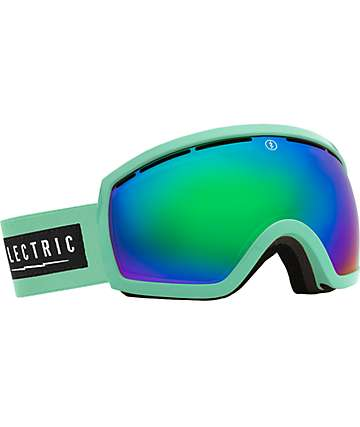 Electric EG2.5 C Foam Bronze & Green Chrome Snowboard Goggles