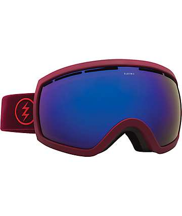 Electric EG2.5 Oxblood Brose Blue Chrome Snowboard Goggles