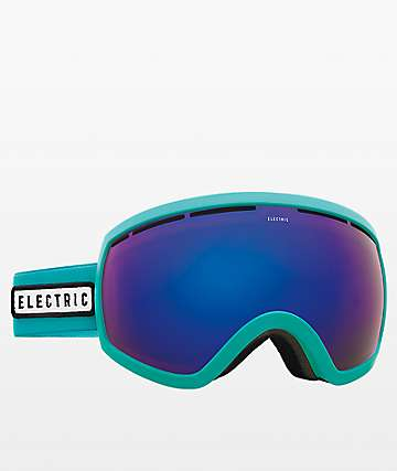Electric EG2.5 Turquoise Blue Chrome Snowboard Goggles