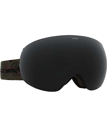 Electric EG3 Dark Camo Jet Black Snowboard Goggles