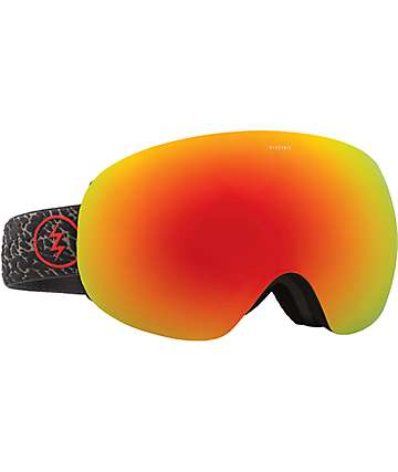 Electric EG3 Elephant Brose Red Chrome Snowboard Goggles