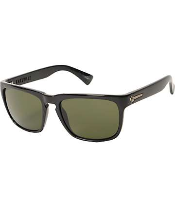 Electric Knoxville Black Gloss & Grey Sunglasses