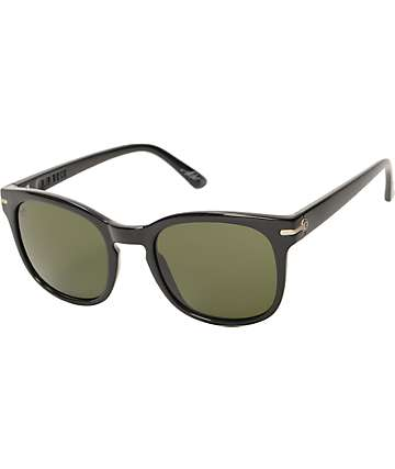 Electric Rip Rock Gloss Black Sunglasses