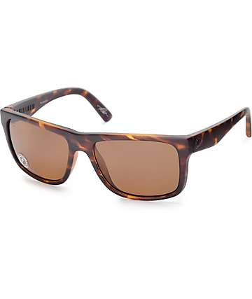 Electric Swingarm Matte Tortoise Shell Polarized Sunglasses