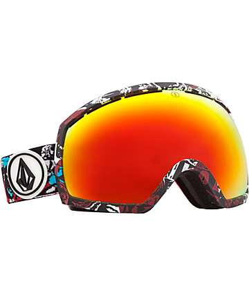 Electric x Volcom EG2 Limited Fire Chrome Snowboard Goggles