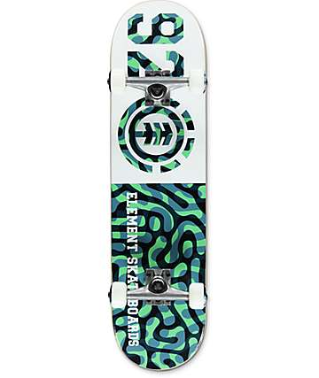 "Element 92 Braincell 8.0"" skate completo"