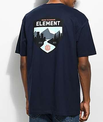 Element Acadia Navy T-Shirt