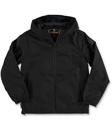 Element Alder Boys Black Jacket