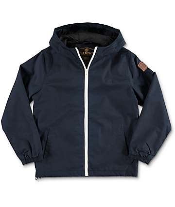 Element Alder Boys Navy Jacket