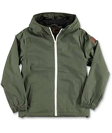 Element Alder Boys Olive Jacket