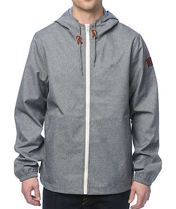 Element Alder Heather Grey Jacket