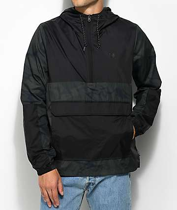 Element Alder Pop Travel Well Camo & Black Anorak Jacket