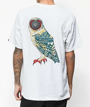 Element BB Owl Inner Vision White T-Shirt