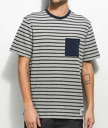 Element Bary Striped Pocket Knit Shirt