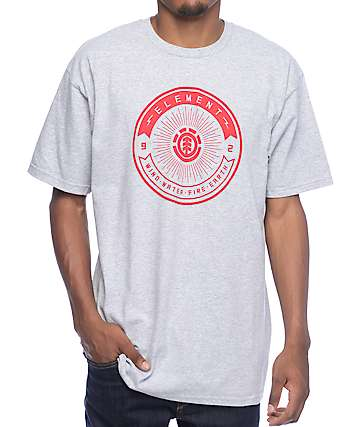 Element Beams Grey T-Shirt