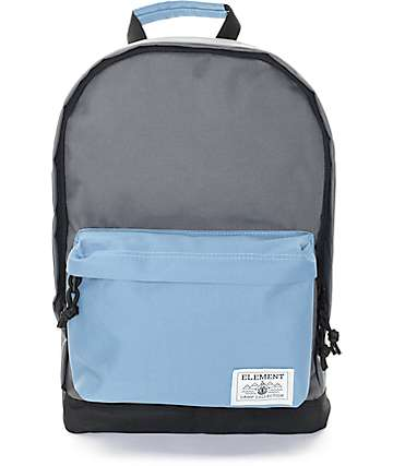 Element Beyond Stone Grey & Blue 18L Backpack