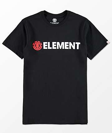 Element Boys Blazin' Black T-Shirt