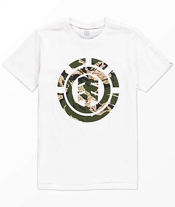 Element Boys Mimic White T-Shirt