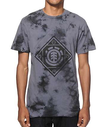 Element Diamante Tie Dye T-Shirt