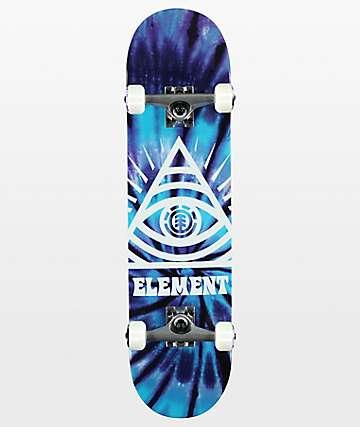 """Element Dye Trippin 7.75"""" Skateboard Complete"""