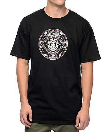 Element Etch camiseta negra