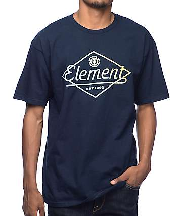 Element Gradual Navy T-Shirt