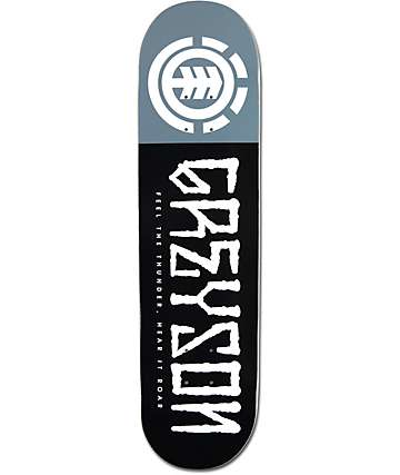 "Element Greyson Script 8.0"" Skateboard Deck"