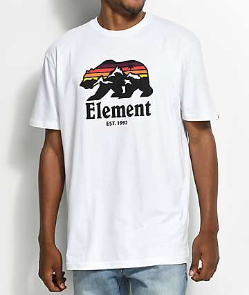 Element Horizon White T-Shirt