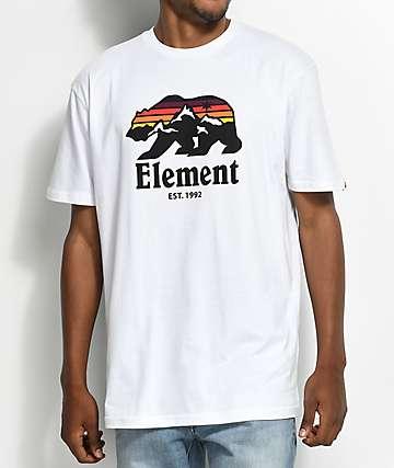 Element Horizon White T-Shirt