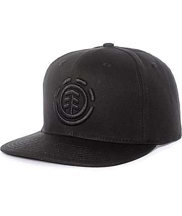 Element Knutsen gorra snapback en negro