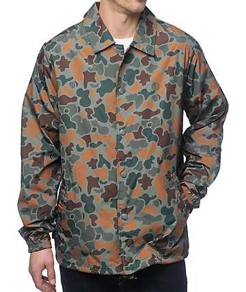 Element Murray TW chaqueta entrenador empacable camuflada