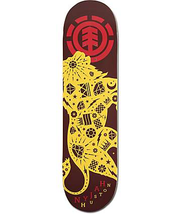 "Element Nyjah Beast Mode 8.0"" Skateboard Deck"